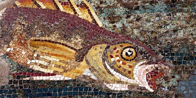 Mosaico dei pesci
