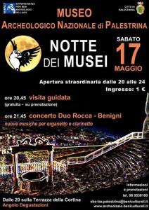 Notte dei musei - locandina